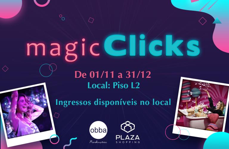 Magic Clicks chega ao Plaza com 9 cenários interativos