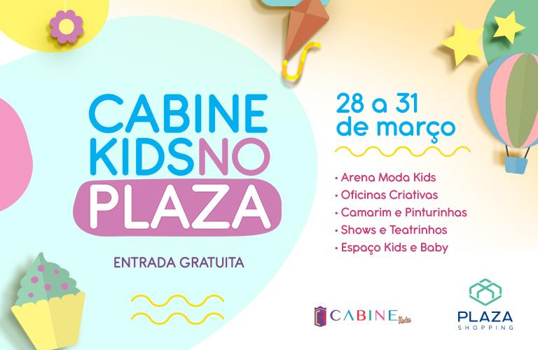 Apresentações teatrais, shows infantis, oficinas criativas e Arena Moda Kids - de 28 a 31/3