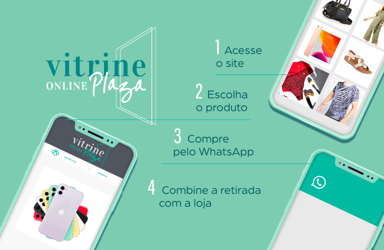 Vitrine Online: compre pelo WhatsApp