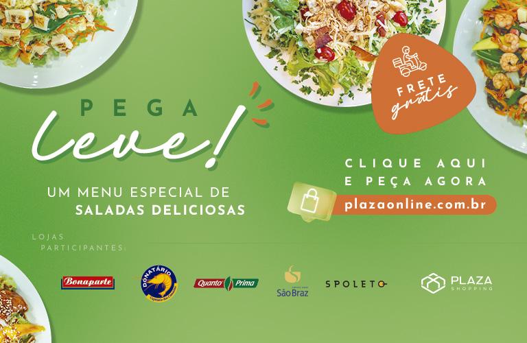 Um menu de saladas deliciosas com frete grátis!