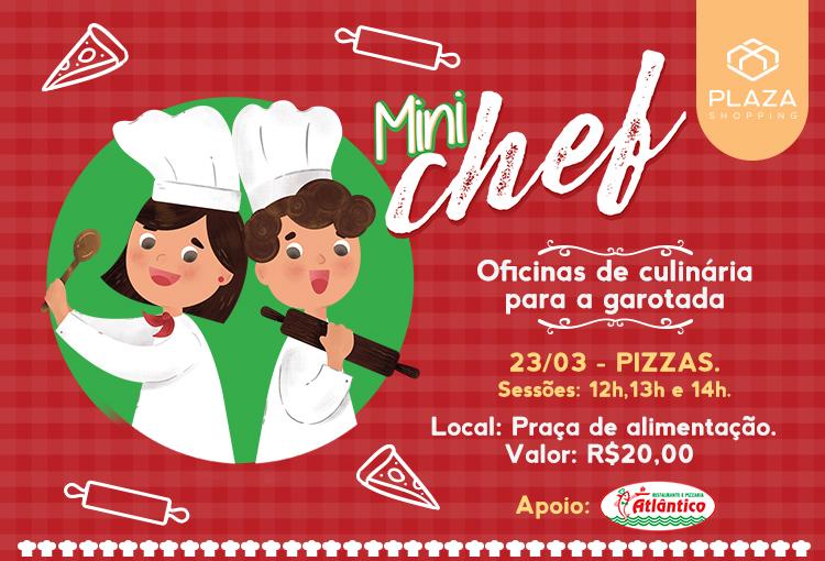 Mini Chef oferece oficinas de culinária para criançada