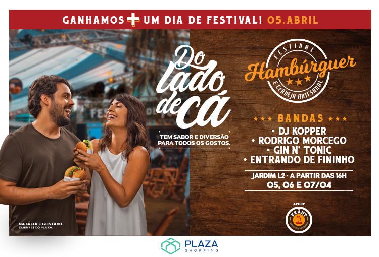Festival de Hambúrguer do Plaza chega à quarta edição