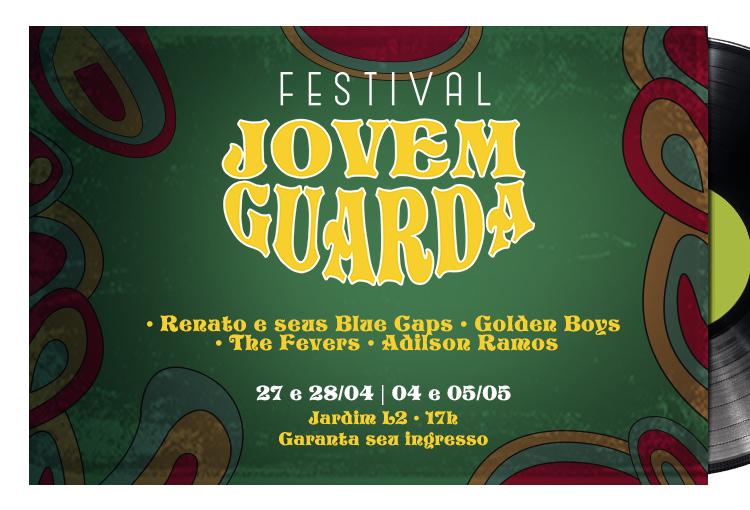 Festival da Jovem Guarda terá 2ª edição no Plaza