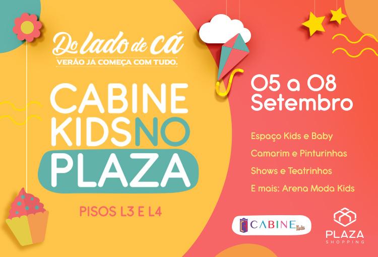 Cabine Kids no Plaza: vem aí a 3ª edição!