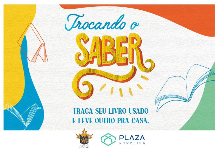 Trocando o Saber: Plaza realiza semana de troca de livros no mall