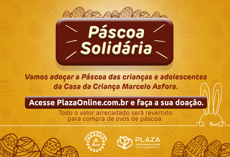 Faça sua doação e adoce a Páscoa das crianças da Casa Marcelo Asfora