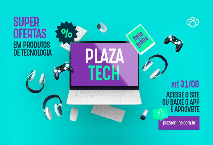 Plaza Tech. Super ofertas em produtos de Tecnologia