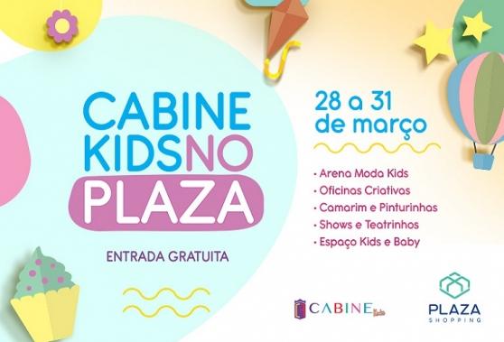 Cabine Kids está de volta ao Plaza