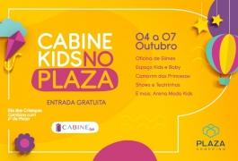 Cabine Kids no Plaza - 4 a 7 de outubro