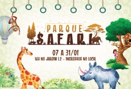 Parque Safari - até 01/02