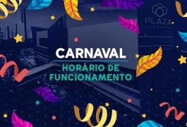 Funcionaremos com horário diferenciado no Carnaval
