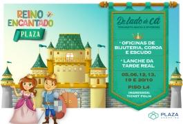 Reino Encantado Plaza garante diversão e fantasia para a garotada celebrar o Dia das Crianças!