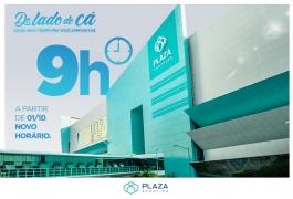 Plaza Shopping passará a funcionar com novo horário para o público.