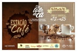 Terceira edição da Estação do Café reúne apreciadores da bebida no Plaza
