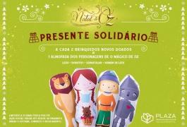 Presente Solidário arrecada brinquedos para crianças de instituições da Zona Norte