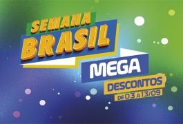 Descontos de até 50% na Semana do Brasil